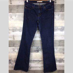 J Brand Mae Bootcut Stretch Jeans Slight Flare